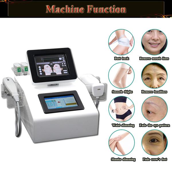 Macchina portatile per il dimagrimento del corpo di Liposonix uso del salone di casa Macchina per la rimozione delle rughe focalizzata ad alta intensità hifu ultrasoud