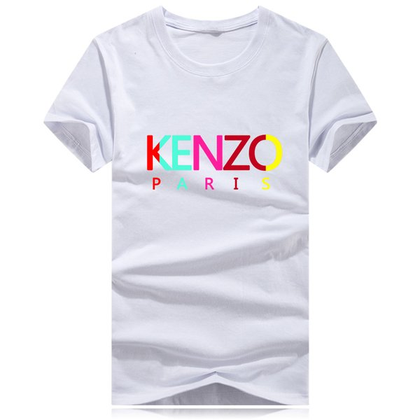 Toptan artı boyutu Lüks Klasik marka o boyun T-shirt Sokak Çalıştırmak Dip gömlek Kısa Kollu poloshirt tee kadınlar Tasarımcı mens g7 tops