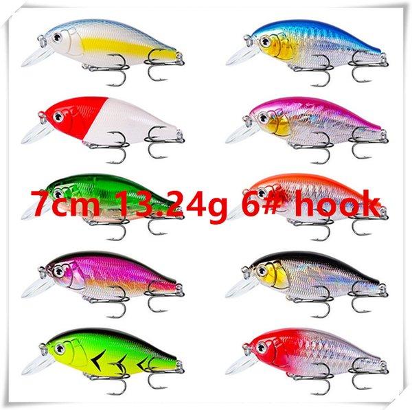 7cm 13.24g 6# hooks