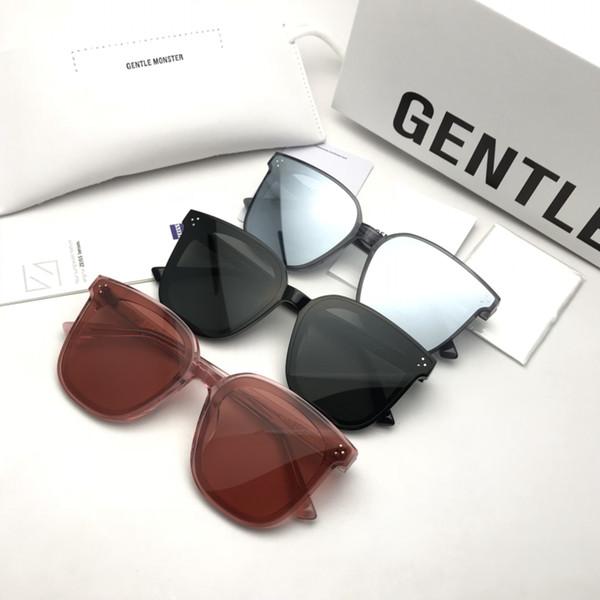 2019 Hot Sale Korea Famous Designer Sunglasses GM JACK BYE Fashion Unisex Sunglasses for men and women UV400 Sunglasses with box