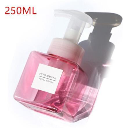 250ml rosa ninguna etiqueta