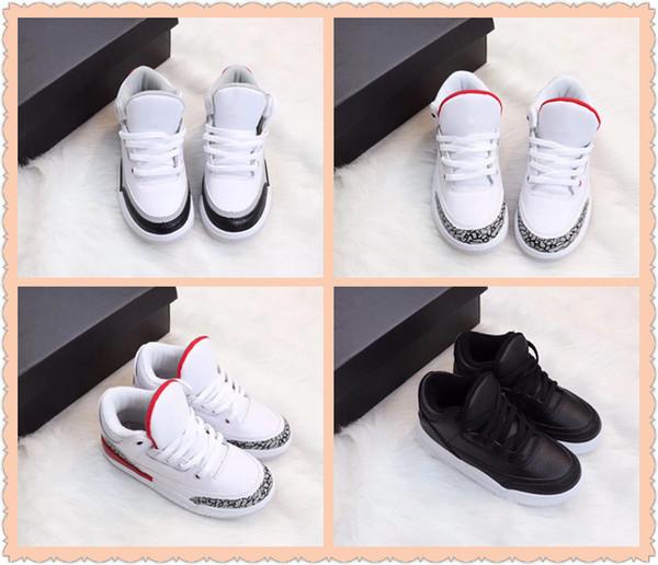 new concept b7372 525c4 2019 Kid Tinker Hatfield 3 NRG JTH Black Cement Mocha Justin Timberlake  Georgetown Hoy Boys Girls Basketball Designer Sports Shoes From ...