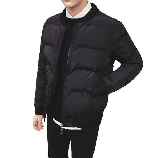 Gute qualität 2019 Marke Winter Neue männer Jacken Baumwollmantel Für Männliche Baumwolle Jacke Oberbekleidung Kleidung