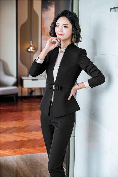 Costume pantalon noir