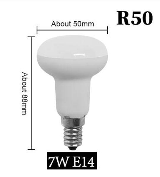 R50 7W E14