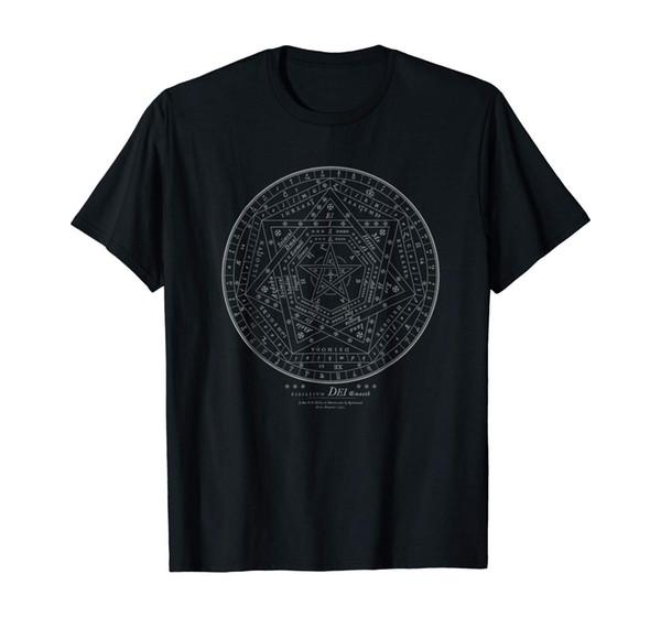 Sigillum dei aemeth oculto sigilo metafísico t camisa