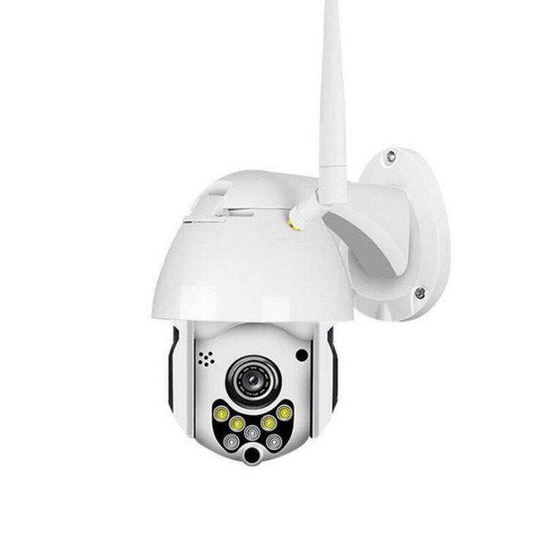 2019-New 1080P 2MP Telecamera IP wireless Telecamera dome Telecamera di sicurezza CCTV Telecamera di visione notturna a infrarossi per esterni Telecamera P2P audio WIFI