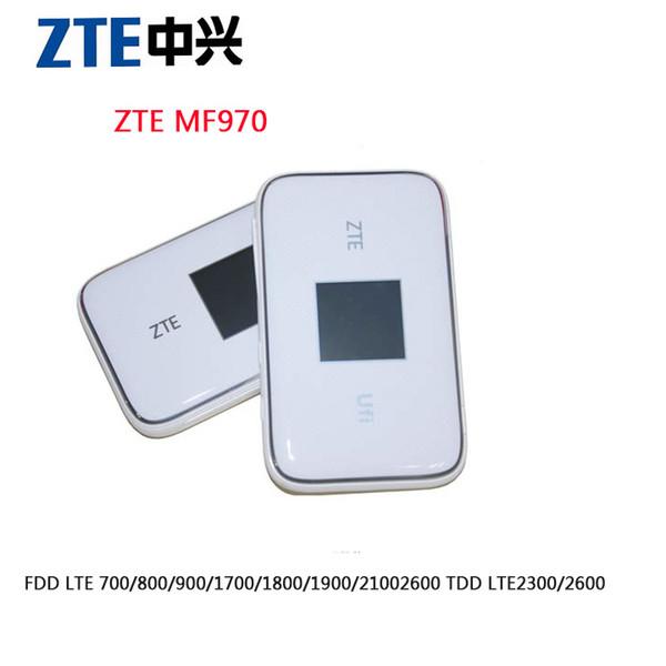 unlocked ZTE UFi MF970 LTE pocket 300mbps 4g dongle Mobile Hotspot 4g Cat6 Mobile WiFi router plus antenna