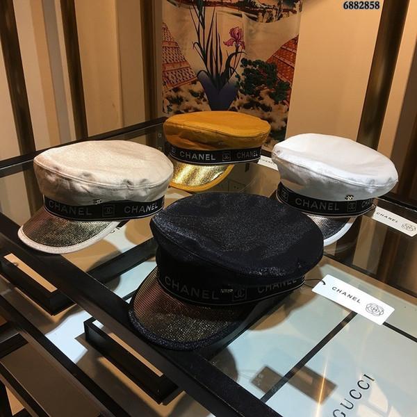 Бейсболка новая женская военная шляпа мода шарм высочайшее качество письмо шляпа край путешествия необходимая шляпа