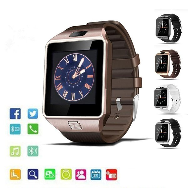 DZ09 Smart Watches Sport Watch With Camera Wearable Technology Intelligent Watch For Android Ios Iphone 7 8 Plus XS XR XS Max Smartwatch