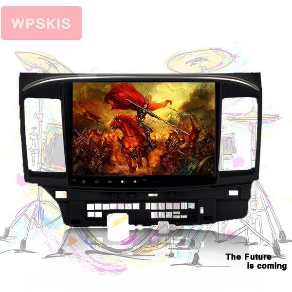 """2 DIN 10.2"""" Android 9.0 Octa Core Car DVD GPS player for Mitsubishi Lancer 10 2007-2016 2008-15 Stereo Auto Radio Head unit"""