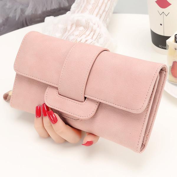 2019 Fashion Wallet Women's Purse Wallet Card Holder Female Clutch Long Purse Multi-card Bit Designer Lady Coin Purses