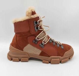 FlashTrek Bilek Boots Erkek kadın Sneakers Kış Çizme Beyaz Kahverengi Siyah Chunky Ayakkabı Martin Boots Moda Açık Ayakkabı 02