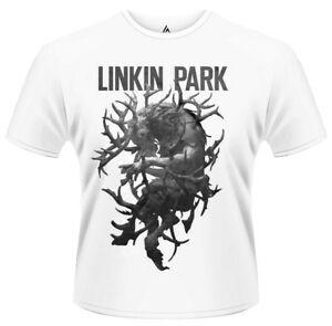 Linkin Park 039 The Hunting Party Antlers 039 T Shirt NUOVO amp UFFICIALE