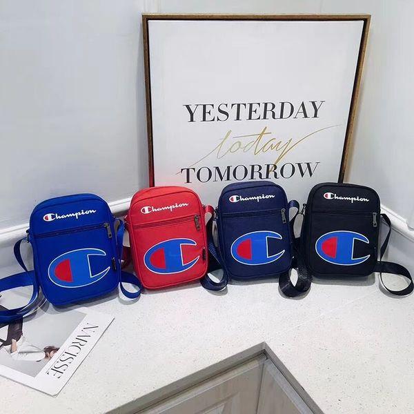 Чемпионы через плечо сумка через плечо Холщовые сумки на одно плечо Сумка-мессенджер унисекс Модные сумки на одно плечо для путешествий Поясная сумка Fanny Pack B3291