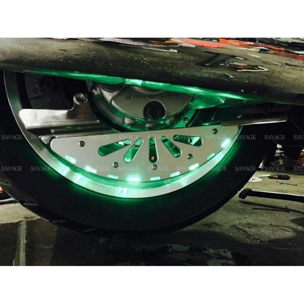Anello disco freno posteriore copertura disco per HONDA GL1800 ala d'oro 2001-2017, Goldwing F6B 2013-2017 accessori moto luce LED