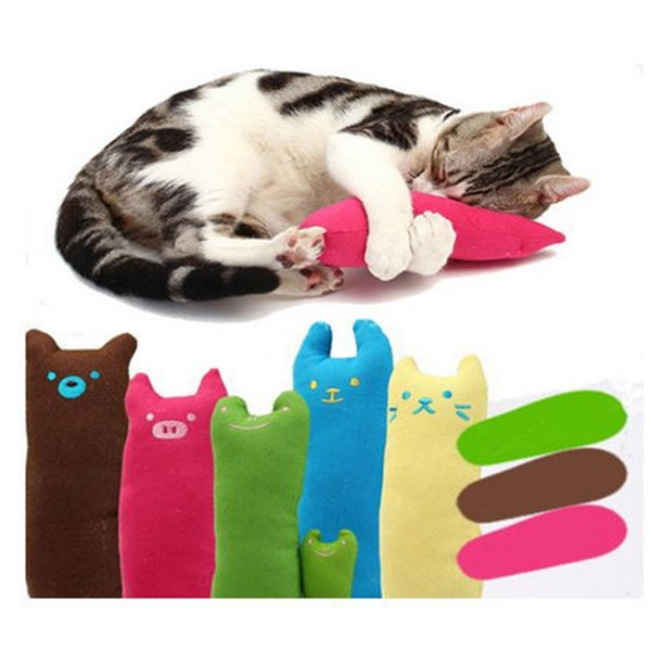 popular cute interactive fancy pets teeth grinding catnip toys thumb bite cat mint scratcher for cats for gatos
