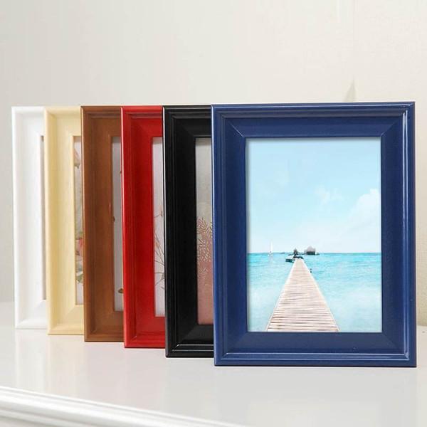 U Form Holz Fotorahmen Ohne Bild, Europa Stil Wandmalerei Rahmen Wandrahmen Dekoration Für Wohnzimmer PF0004