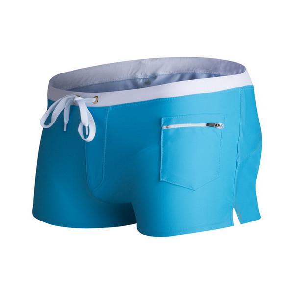 Yaz Şort ile Cep Katı Siyah Erkek Plaj Şort Aktif Rahat Kurulu Şort Mayo Boyut S-XL