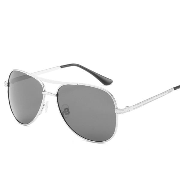 d106c95c6 2019 homens da moda piloto polarizada óculos de sol retro luxo óculos de sol  de metal