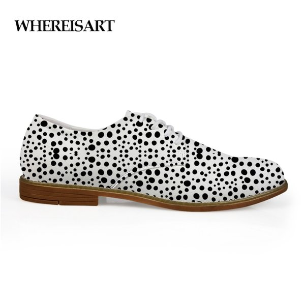 WHEREISART Leopard Spots Leather Shoes Men Breather Men Fashion Leather Loafers Flat Spot Printing Casual Shoes Man Custom