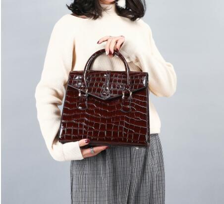 Sac de femmes dames motif classique crocodile sacs à main épaule style européen et américain de la mode transfrontalière sac Messenger