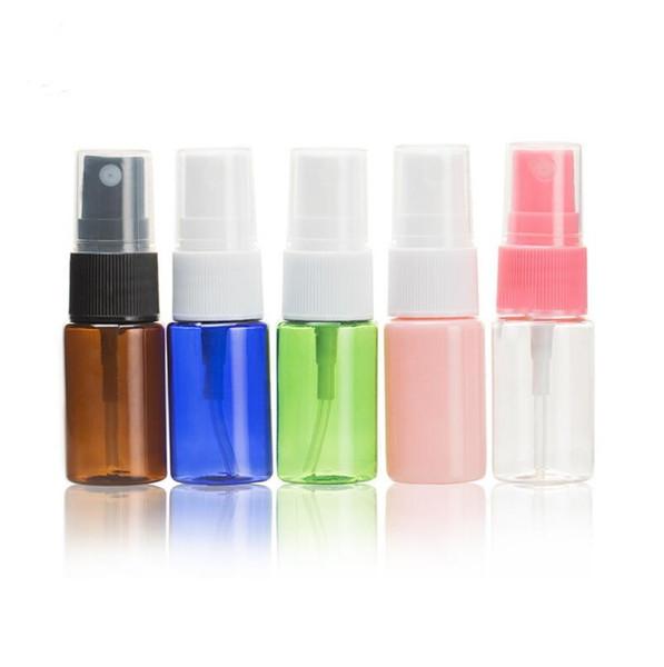 Wholesale 10ml spray bottle, PET bottle small watering can, cosmetic packaging bottles, sample bottles LX5212