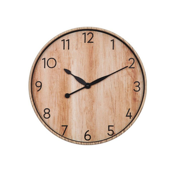 Vintage Wall Clocks Roman Number Design Silent Room Decoration Home Decor Watches Large Wall Clocks No Ticking Sound