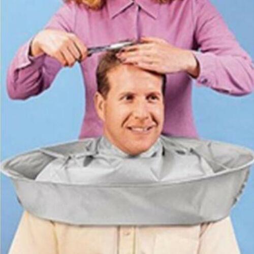 Delantal de corte de pelo Barber Cape Cape Coupe de cheveux Cape Robe Parapluie en nylon Cheveux Salon Coupe Coiffeur Tablier