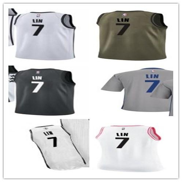 super popular 1f3e6 34d82 2019 NCAA 2019 Custom Brooklyn Men/WOMEN/Youth Net Jersey 7 Jeremy Lin  Jerseys Free Ship Size S Xxl Message Name Number From Maxjersey04, $18.28 |  ...