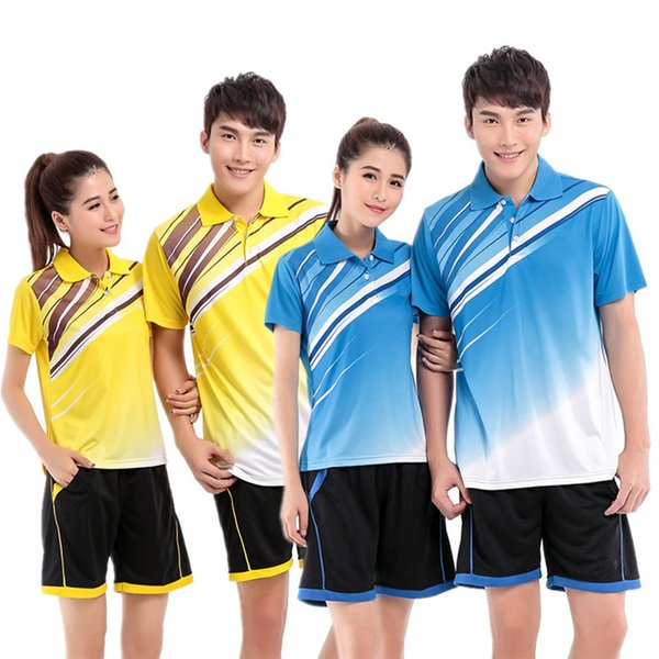 B5 Badminton Suit Sportswear for Men and Women Short Sleeve T-shirt for Leisure Running Basketball casual wear Table tennis Y-2083