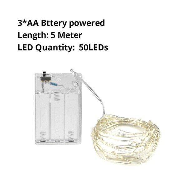 AA Battery 5M - White