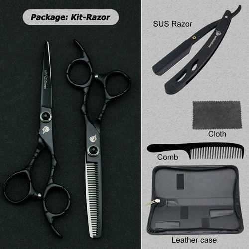 Black Kit with Razor