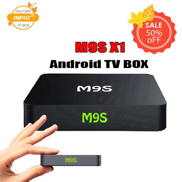 5PIECE!! Android TV Box M9S X1 Amlogic S905X 2.4G wifi Quad Core 4K Streaming Media Player OTT Boxes better MXQ PRO S905W 2GB DHL