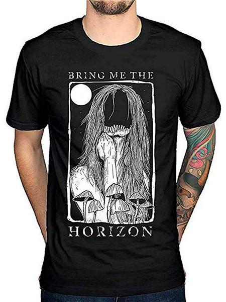 Bana Ufku getirin Rahat komik Kısa Kollu saf Pamuk Giyim Rahat yaka Adam Moda Tasarım T-shirt