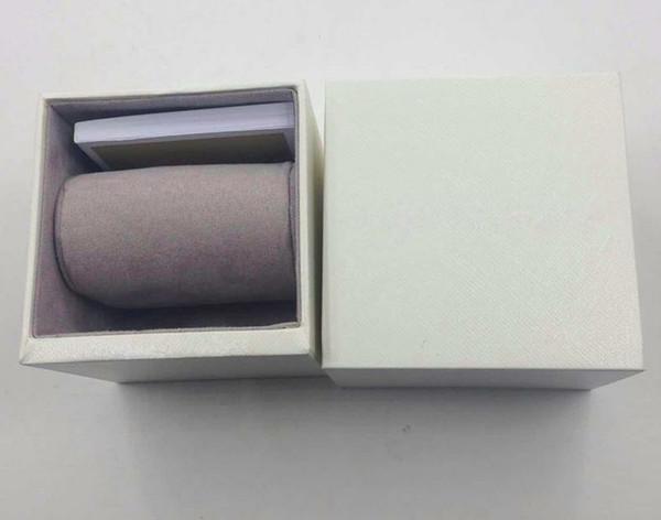 Mulheres de luxo Relógios Caixas de Alta Qualidade Adequado para pacote de Luxo Assista Caixas de Presente de Luxo Relógios box + Inglês Instruções,