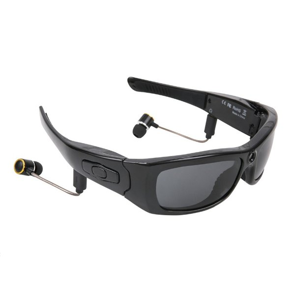 Smart Glasses Camera Sport Sunglasses HD 1080P 120 Degrees Lens With Bluetooth Headphones Microphone Listen Music Recording Video