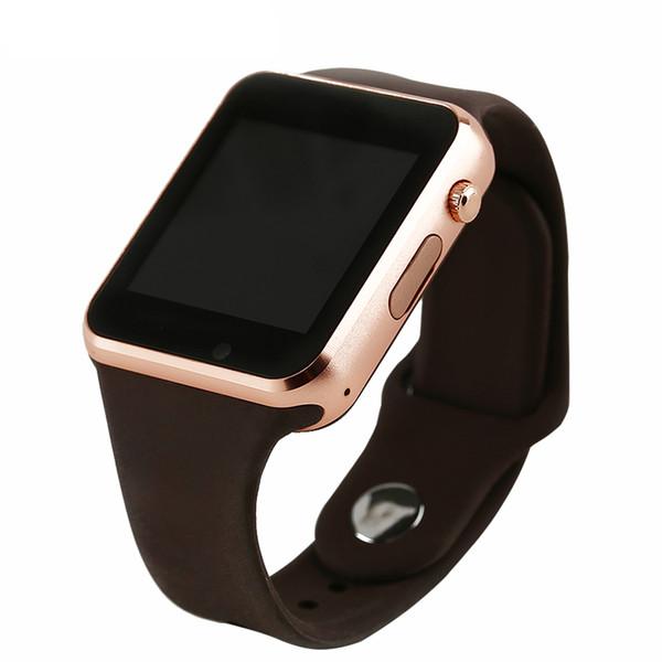 A1 Bluetooth Uhr verbunden Fitness Schrittzähler mit SIM TF-Karte Kamera Bluetooth Musik Smart Watch Android IOS