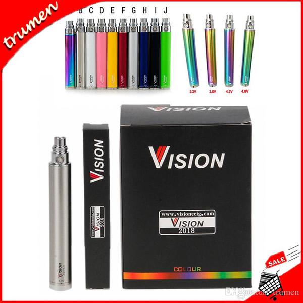 Vision Spinner Bateria 650/900/1100/1300 mAh Ego C Torção Variável VV Bateria Para CE4 510 Nautilus Mini Protank 3 Atomizador