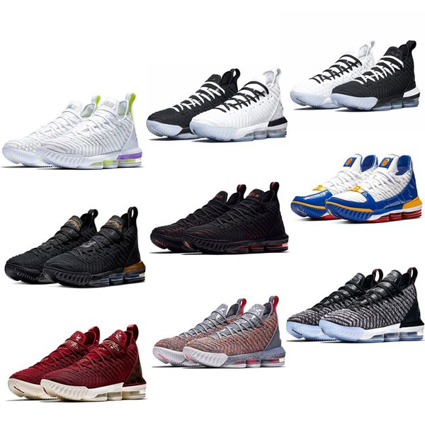 huge discount a0910 c3dc0 2019 2019 New Lebrons 16 Basketball Shoes Fresh Bred King Equalit Oreo  Watch The Buzz Throne Lightyear Lebron Sneaker 16s James US Size7 12 From  ...