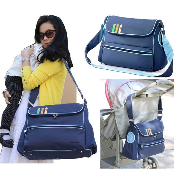 Fashion Solid large diaper bag nappy maternity bags for mom baby bag for stroller diaper handbag bolsa maternidade