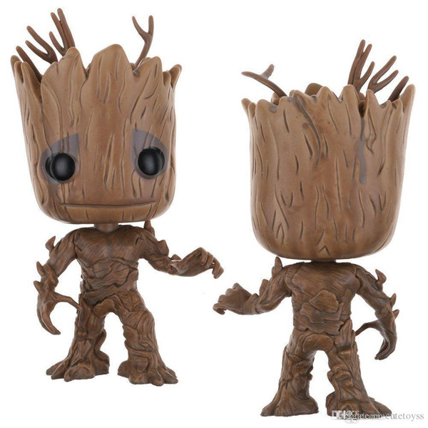 Pretty Wholesal dhl ship Funko POP Guardians of the Galaxy Dancing Groot Vinyl Action Figure With Box Toy Gify Doll