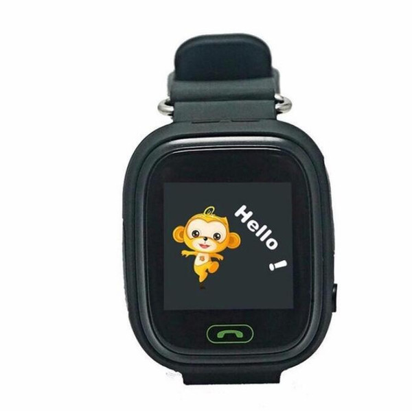 Wholesale Q90 GPS Child Smart Watch Phone Position Children Watch 1.22 inch Color Touch Screen WIFI SOS Smart Baby Watch
