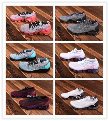 2018 mens designer de almofada de ar running shoes senhoras casual sports outdoor caminhadas ao ar livre caminhadas sapatos de corrida caixa original ccemzo