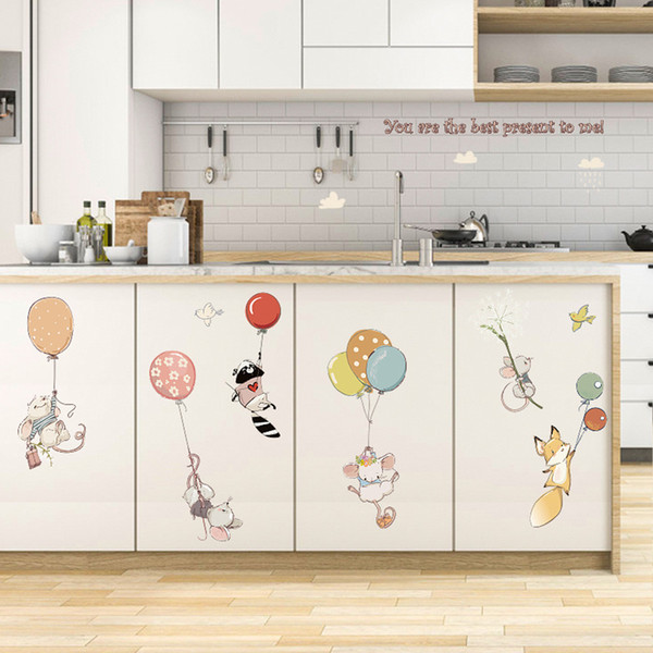 Modern Removable Decal Art Mural Wall Sticker Home Room Decor Baby Nursery Child Kids Rooms Wallpaper Home Decor