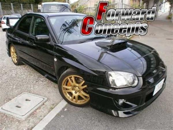 FOR Carbon Fiber Subaru  Impreza GD GG WRX Sti Hood Bonnet Intake Vent Scoop