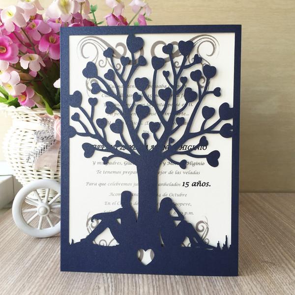 Hollow Lazer Kesim Düğün Davetiye Engagements Loves sevgililer Günü Doğum Günü Grand Tema Parti Davetiyesi Malzemeleri