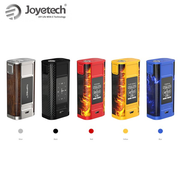 Retail Original Joyetech CUBOID TAP TC Box Mod 228W With OLED Power By 18650 Battery not included TAPTEC technology e-Cig