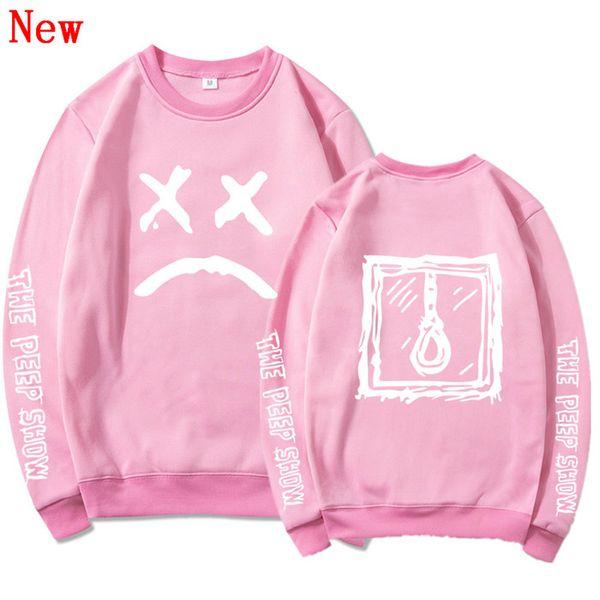 Free Shipping Lil Peep cotton oversized Hoodies sweatshirts Men/Women Streetwear Tracksuit hit hop clothes QJ5