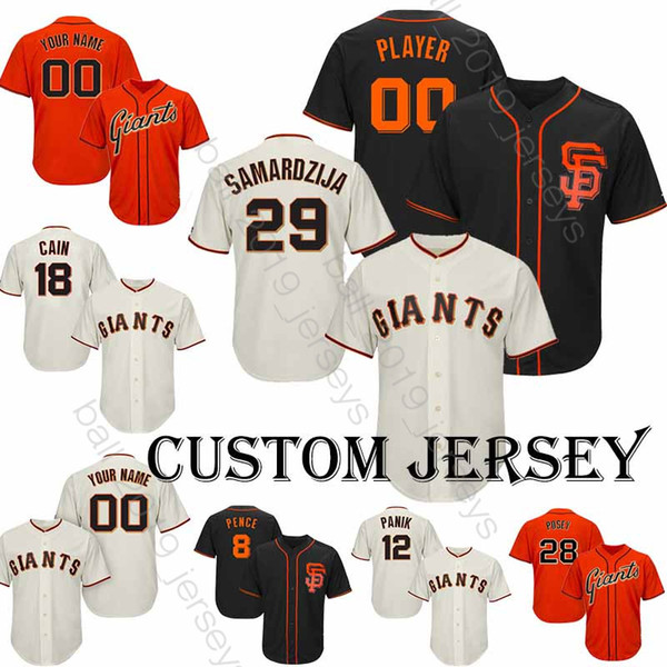 best service d3957 5fc39 2019 San Francisco Jerseys Giants 9 Brandon Belt Jersey 60Travis Bergen  Baseball Custom Jersey 40 Madison Bumgarner 35 Brandon Crawford T Shirt  From ...